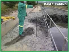 Dam Cleaning