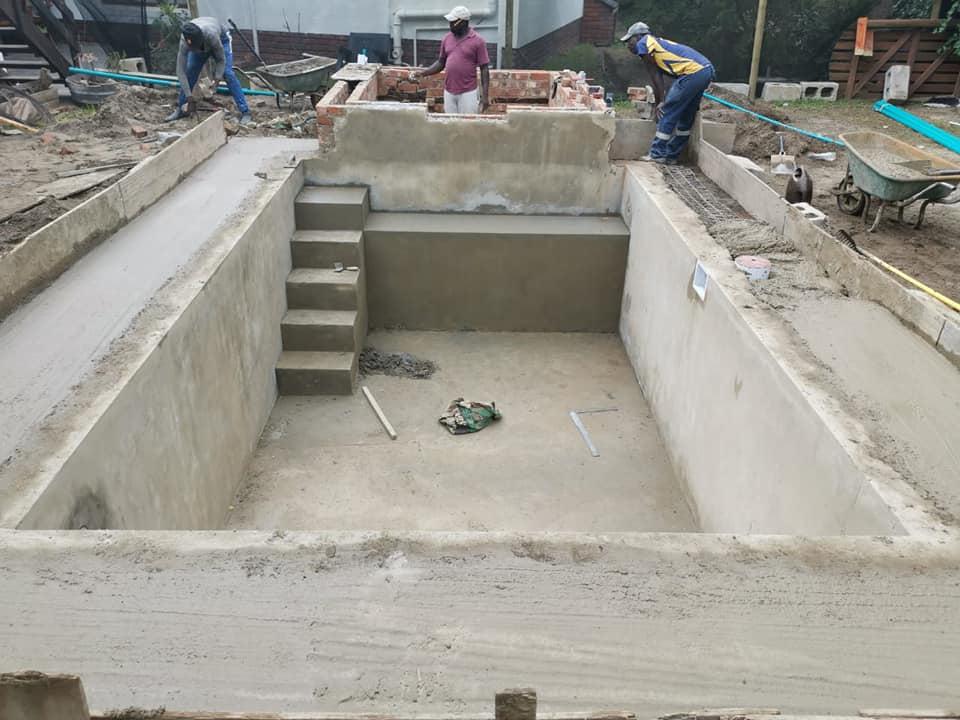 Concrete Swimming Pool Before